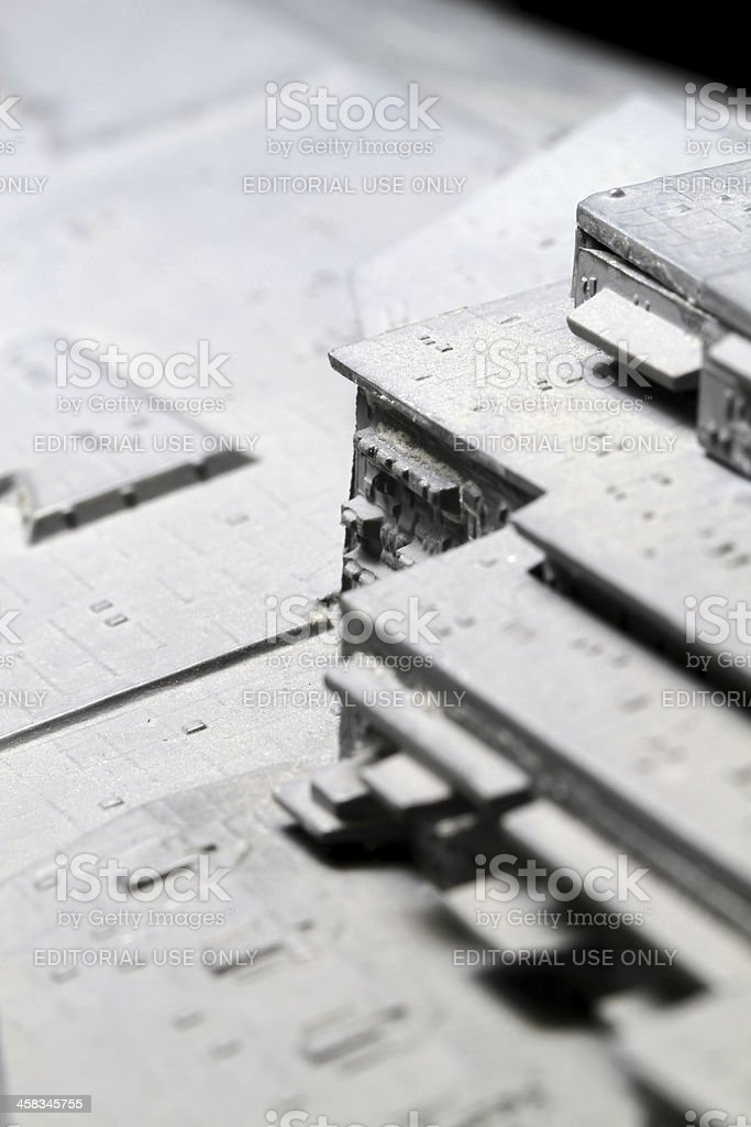Layers of Star Destroyer royalty-free stock photo