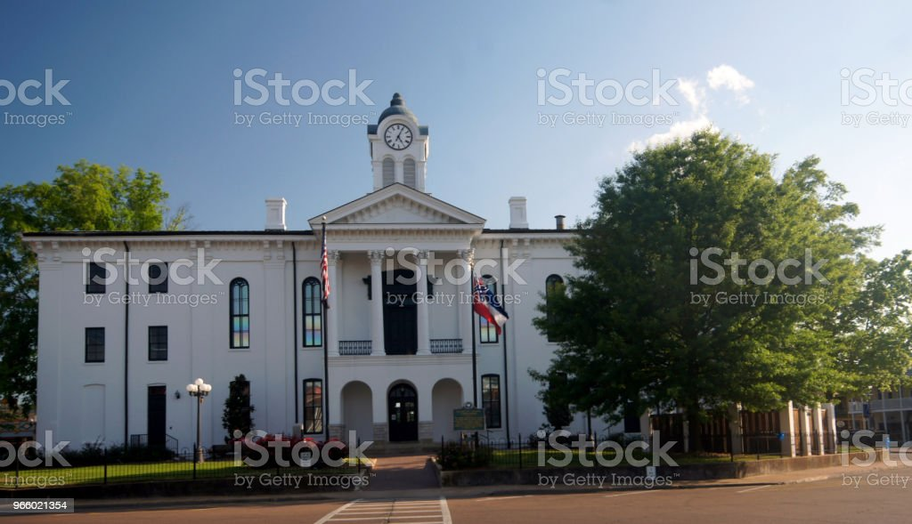 Layfayette County Courthouse - Royalty-free Courthouse Stock Photo