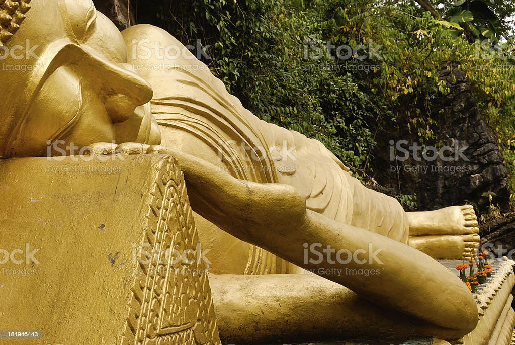 Laying Buddha royalty-free stock photo