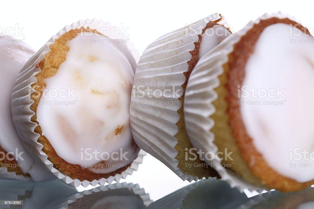 Laying Lemon Muffins royalty-free stock photo