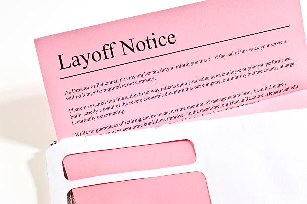 layoff weiteres - stellenabbau stock-fotos und bilder