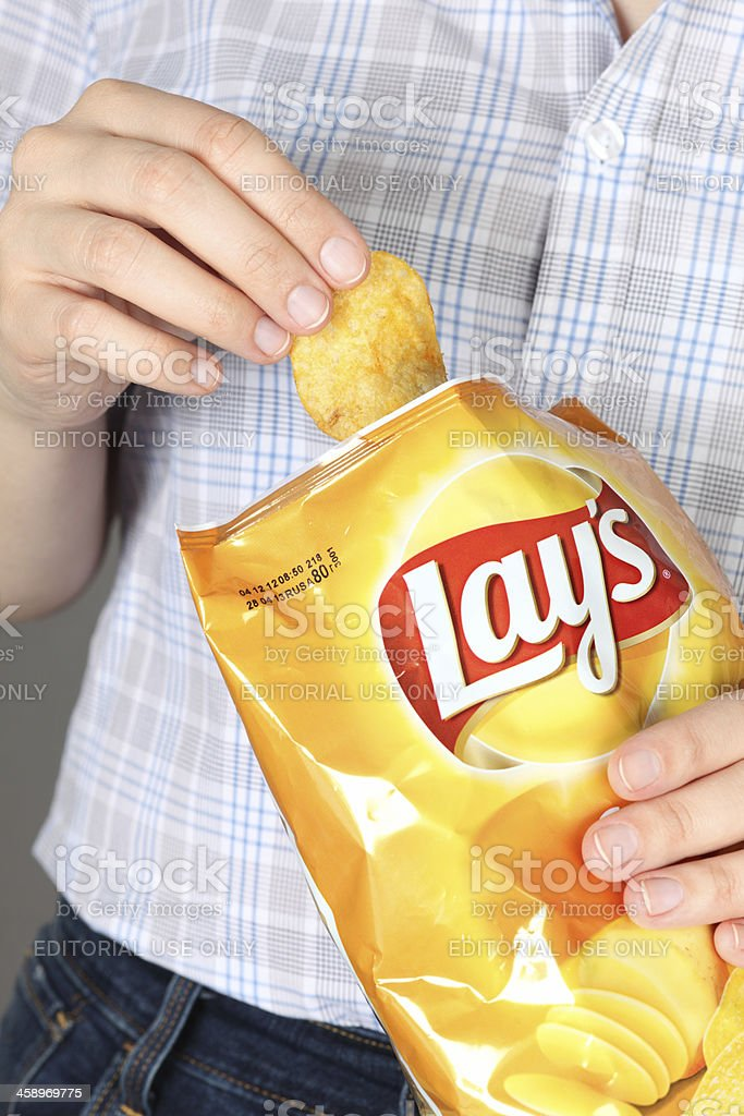 Lays Potato Chips Stock Photo More Pictures Of Bag Istock
