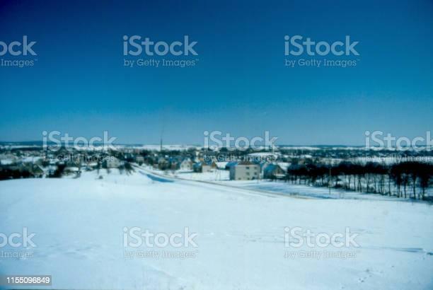 Lazidijai in Winter