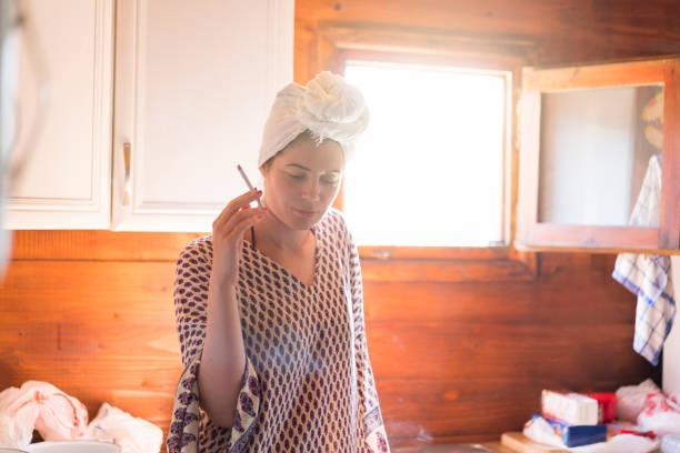 Femme au foyer paresseux - Photo