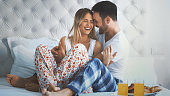 istock Lazy morning in bed. 679301494