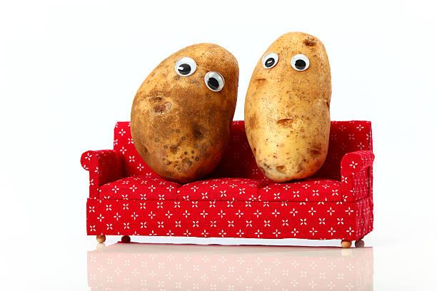 Lazy Vegetables stock photo