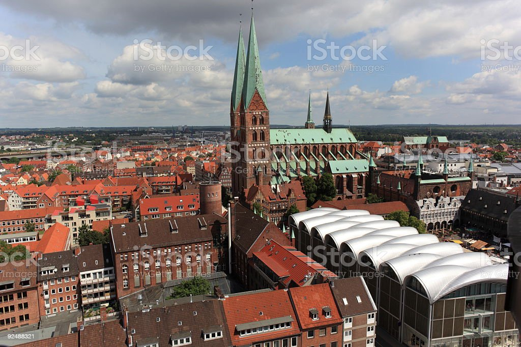 Lübeck, Germany royalty-free stock photo