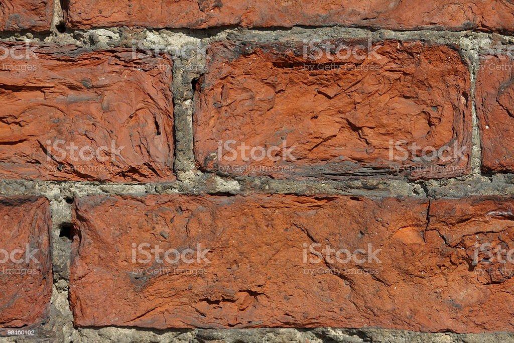 Оld brick wall royalty-free stock photo