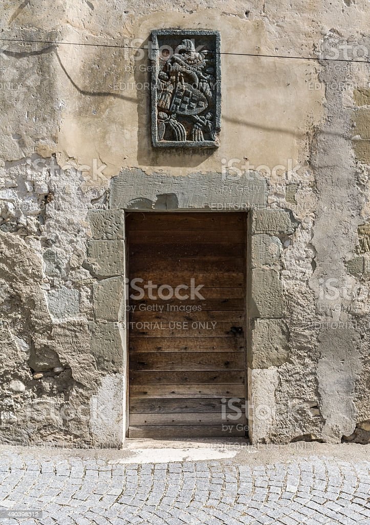 Le Bourget-du-Lac (Savoy, France): the old priory stock photo
