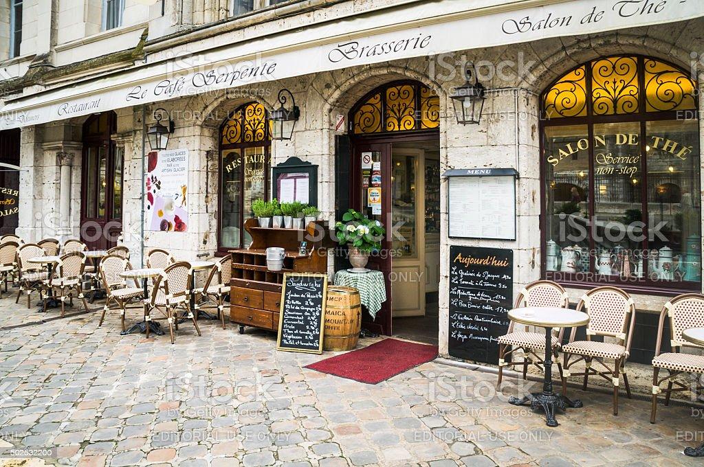 Le Cafe Serpente stock photo