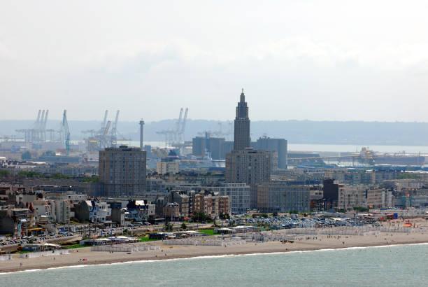 Le Havre vue générale du Havre le havre stock pictures, royalty-free photos & images