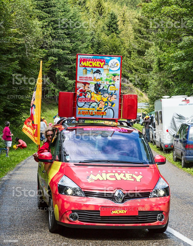 Le Journal du Mickey de voiture-Le Tour de France 2014 - Photo