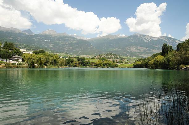 Le lac de Géronde – Foto