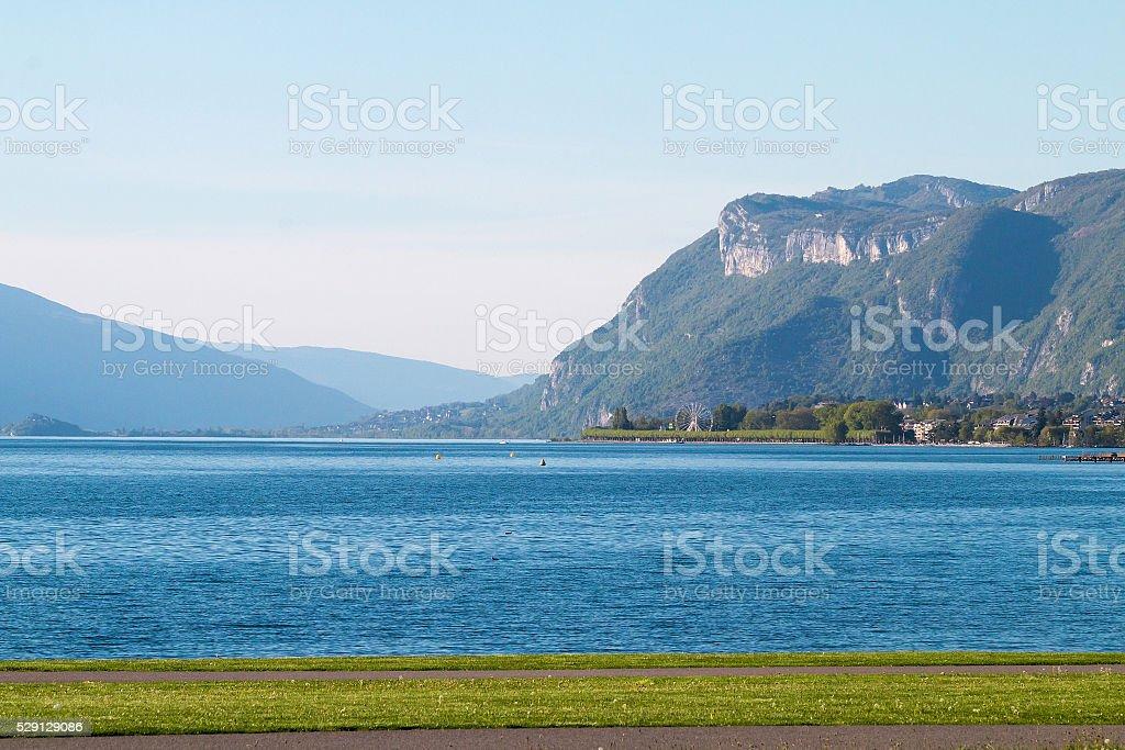 Le Lac du Bourget au Cap des Séselets - Photo