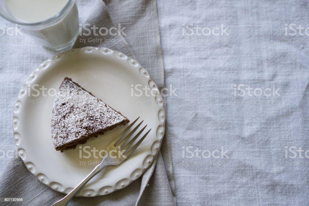 Le Marquis (Chocolate Spongecake) stock photo