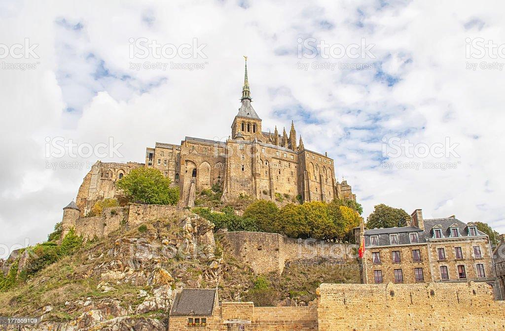 Le Mont Saint Michel,France stock photo