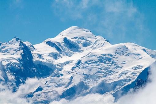 istock Le Mont-Blanc depuis le col de Joux Plane 1019995294