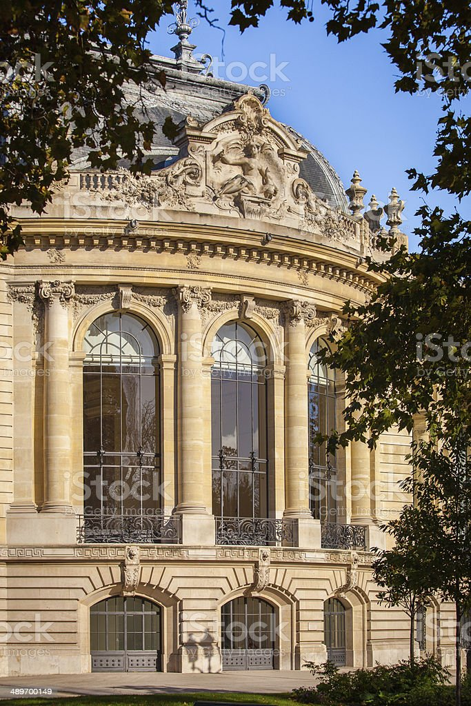 Le Petit Palais, Paris stock photo