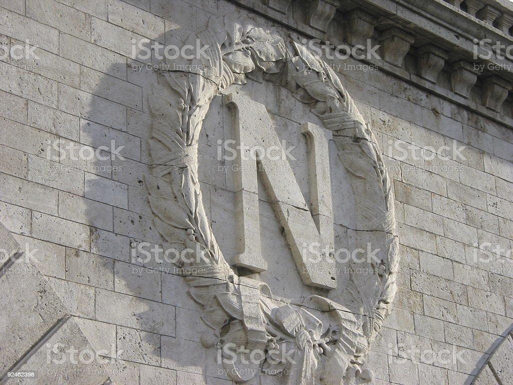 Le Pont Saint-Michel stock photo