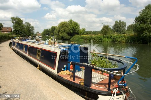Boats on the River Lea Hertfordshire UKPlease view other related images of mine