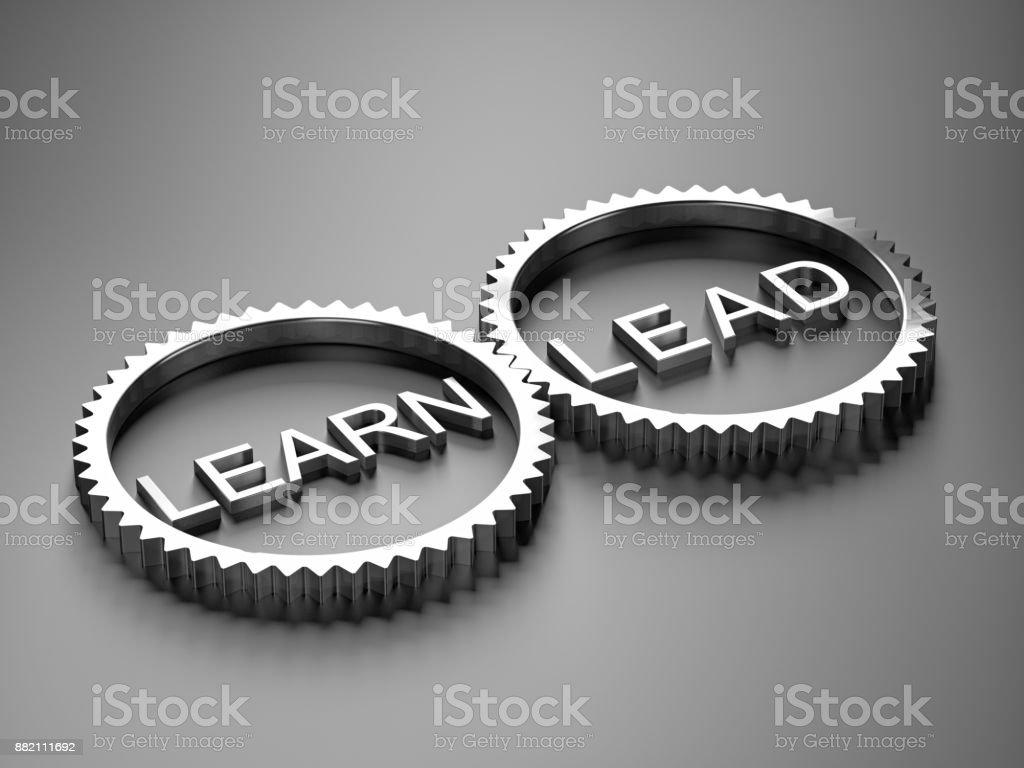 Lernen Sie Konzepte und führen – Foto
