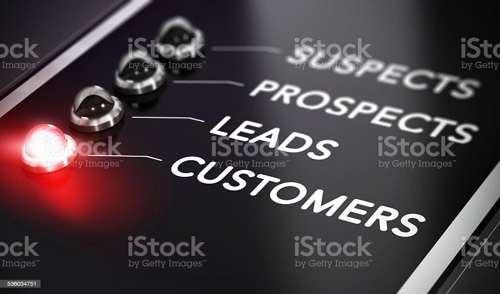 Lead Conversion stock photo