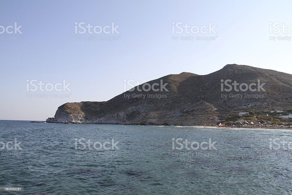 Cala del Plomo royalty-free stock photo