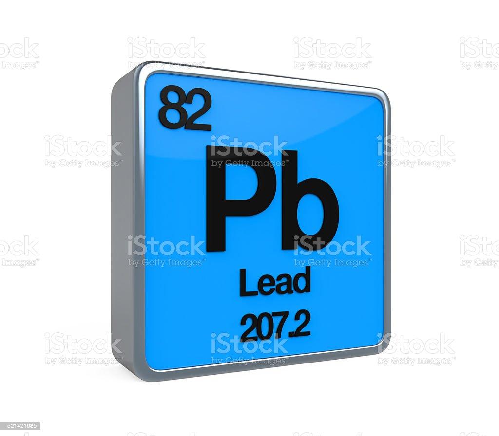 Lead element periodic table stock photo more pictures of atom istock lead element periodic table royalty free stock photo urtaz Gallery