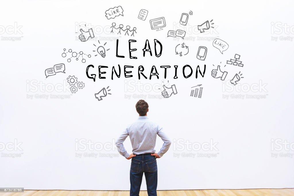 lead generation stock photo