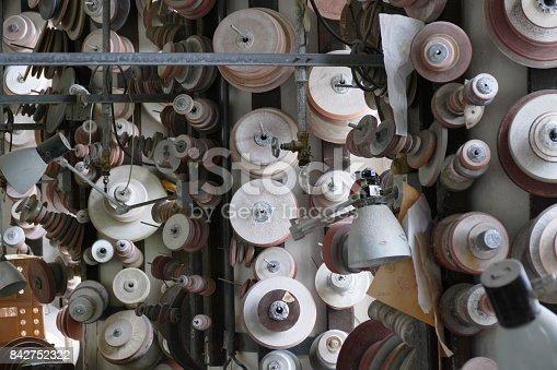 istock lead glass grinding 842752322