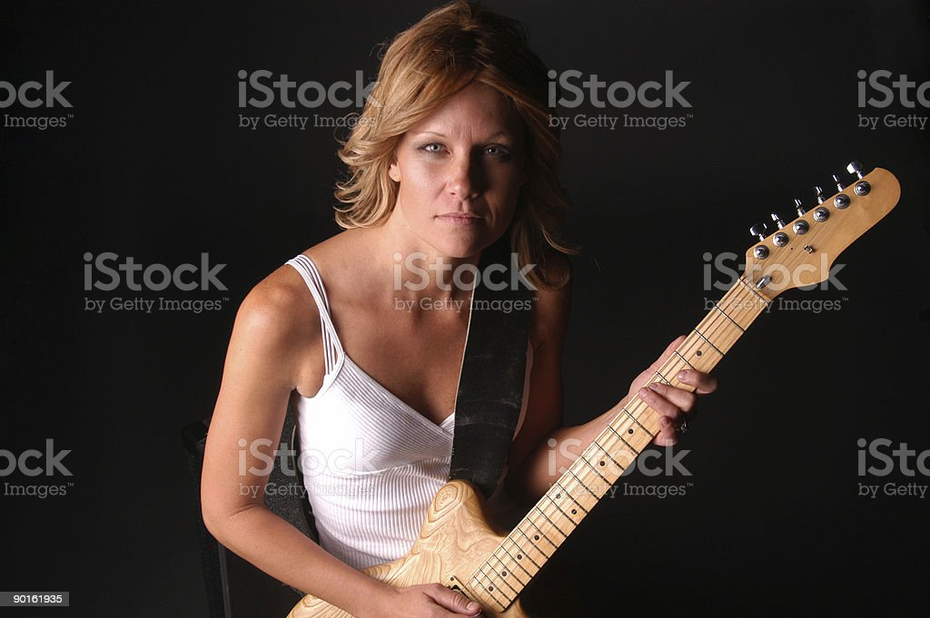 Lead Guitar stock photo