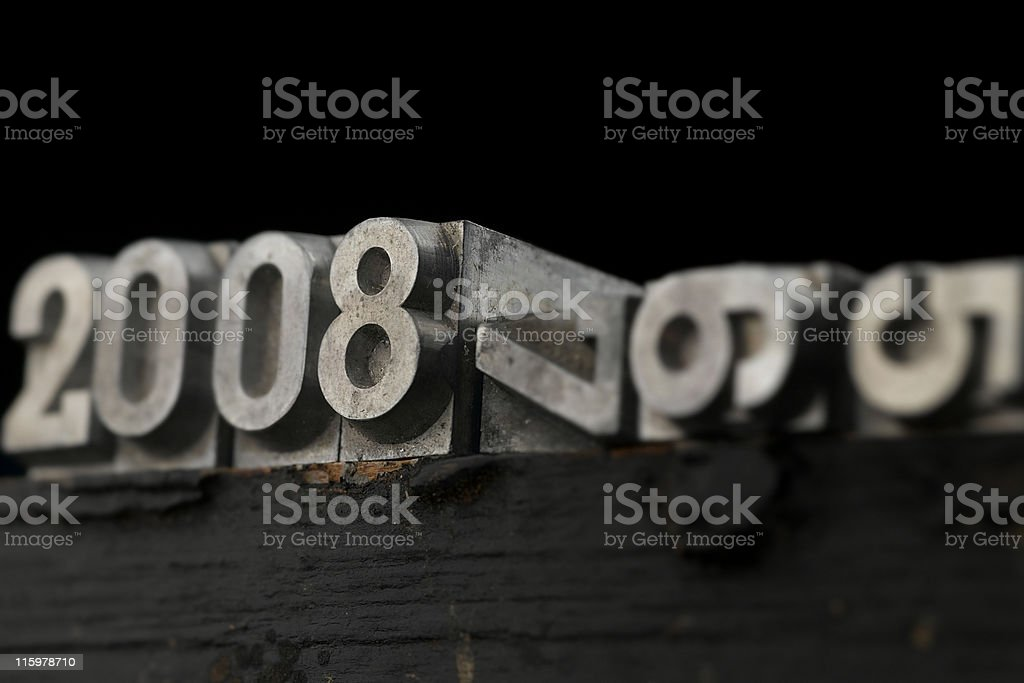lead letters royalty-free stock photo