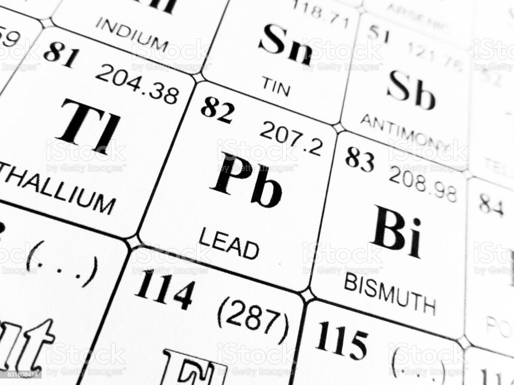 Lead on the periodic table of the elements stock photo 831808414 lead on the periodic table of the elements royalty free stock photo gamestrikefo Choice Image