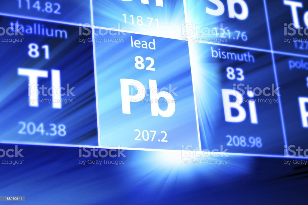 Lead Pb Periodic Table Stock Photo More Pictures Of Abstract Istock