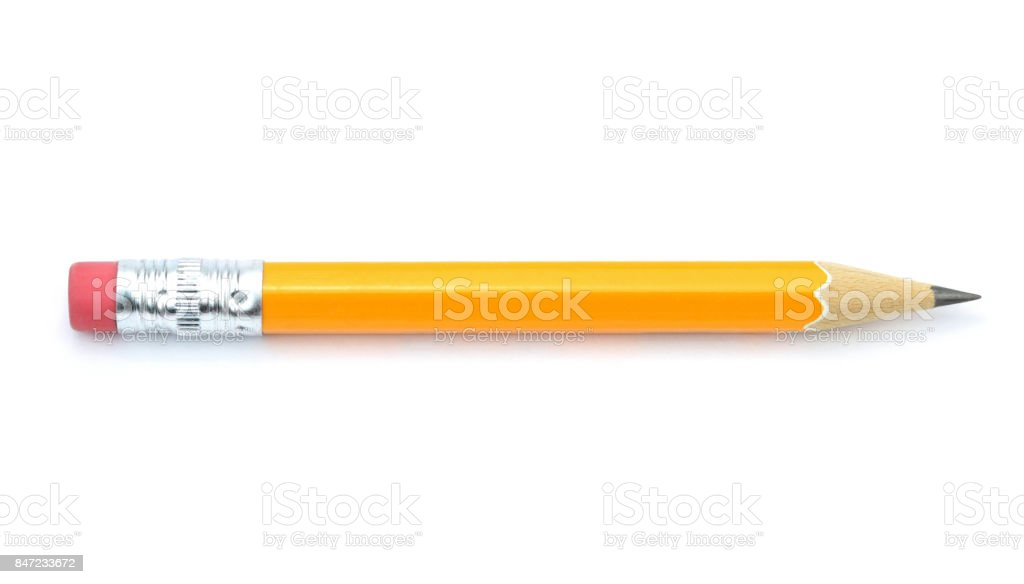 Lead pencil stock photo
