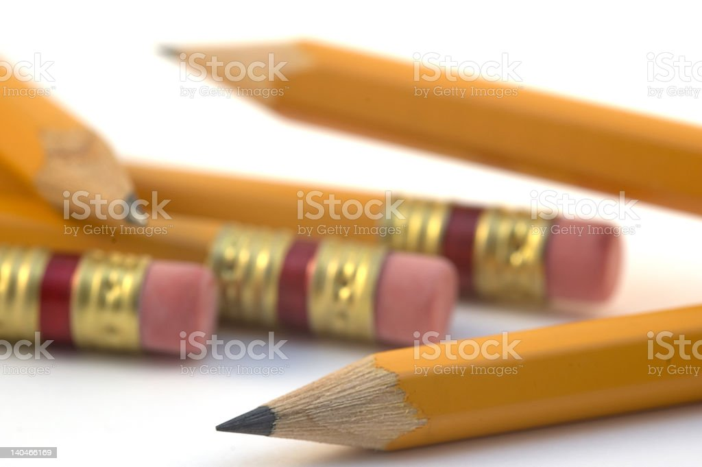 Lead Pencils royalty-free stock photo