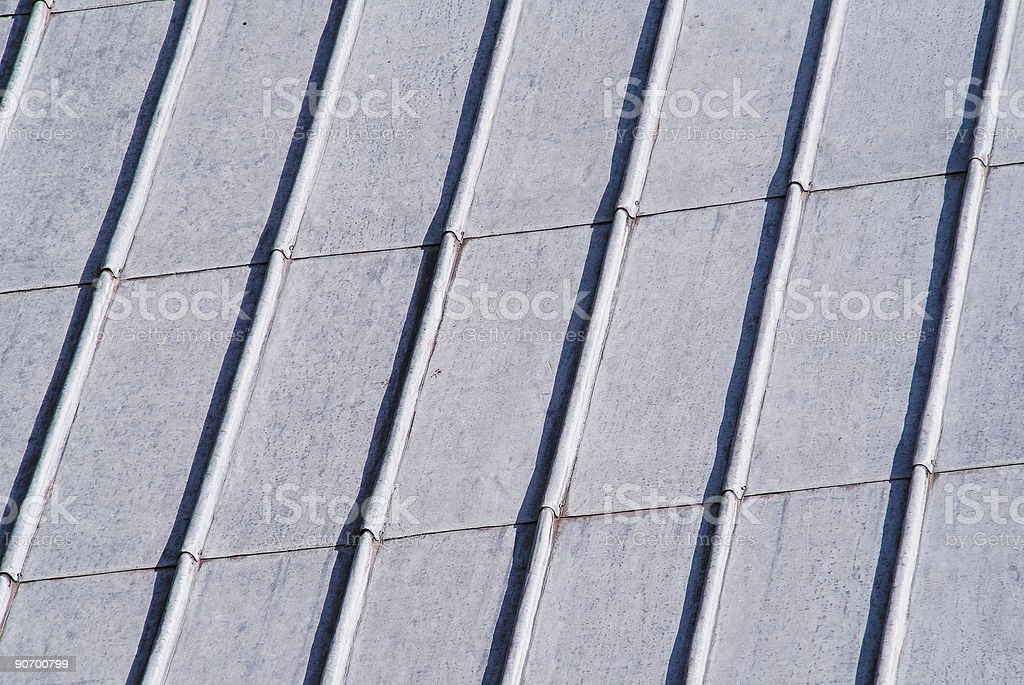 lead roof royalty-free stock photo
