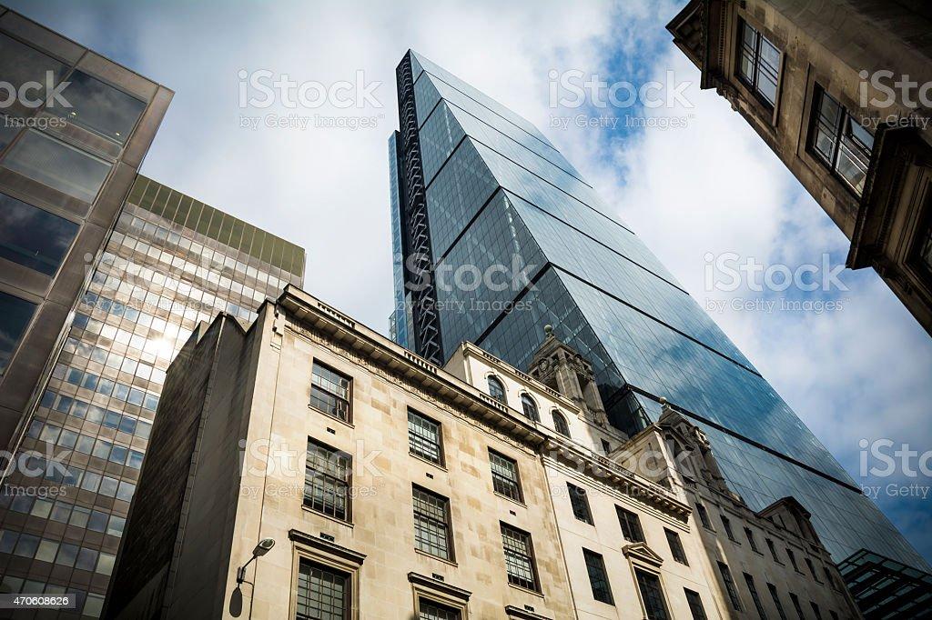 Leadenhall Street London stock photo