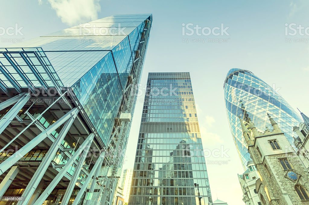 Leadenhall Tower stock photo