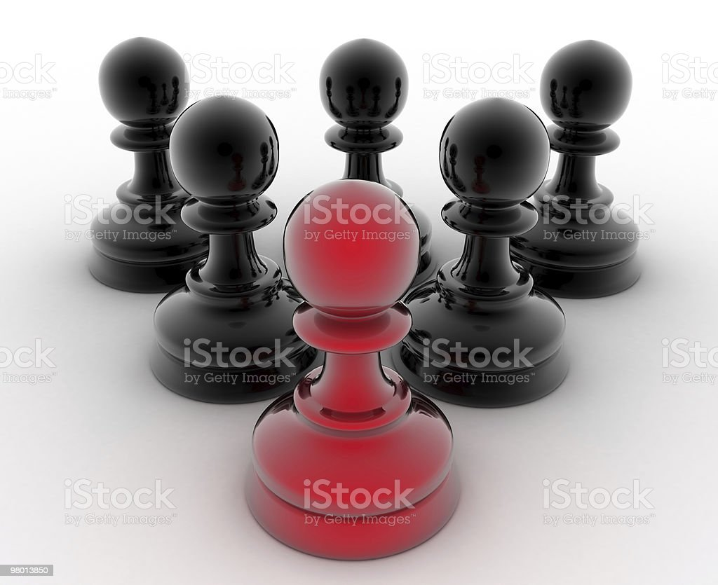 Leader and Team Concept royalty free stockfoto