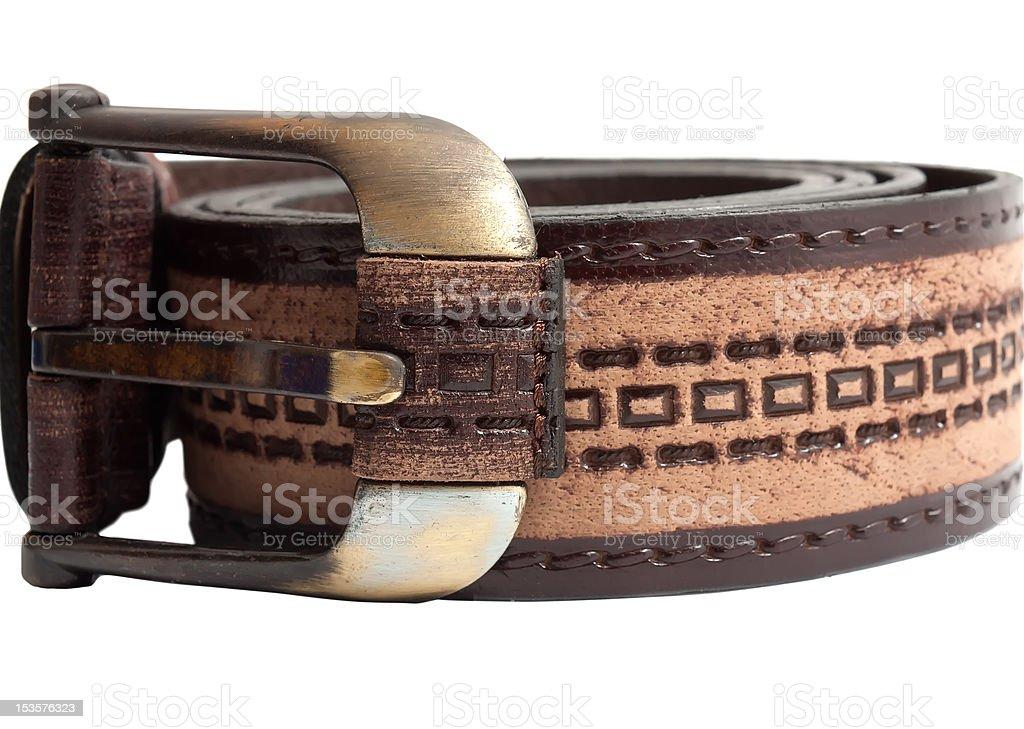 Leader belt royalty-free stock photo