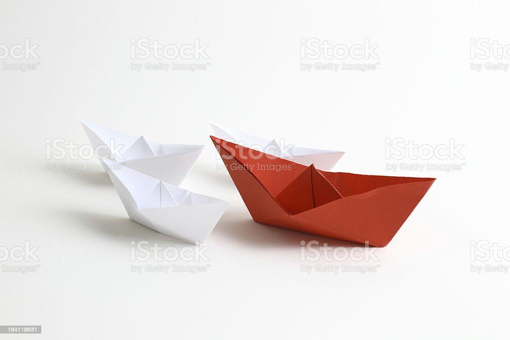 Líder de barco - foto de acervo