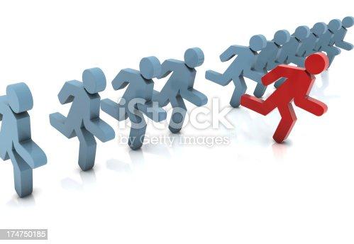 istock Leader Concept 174750185