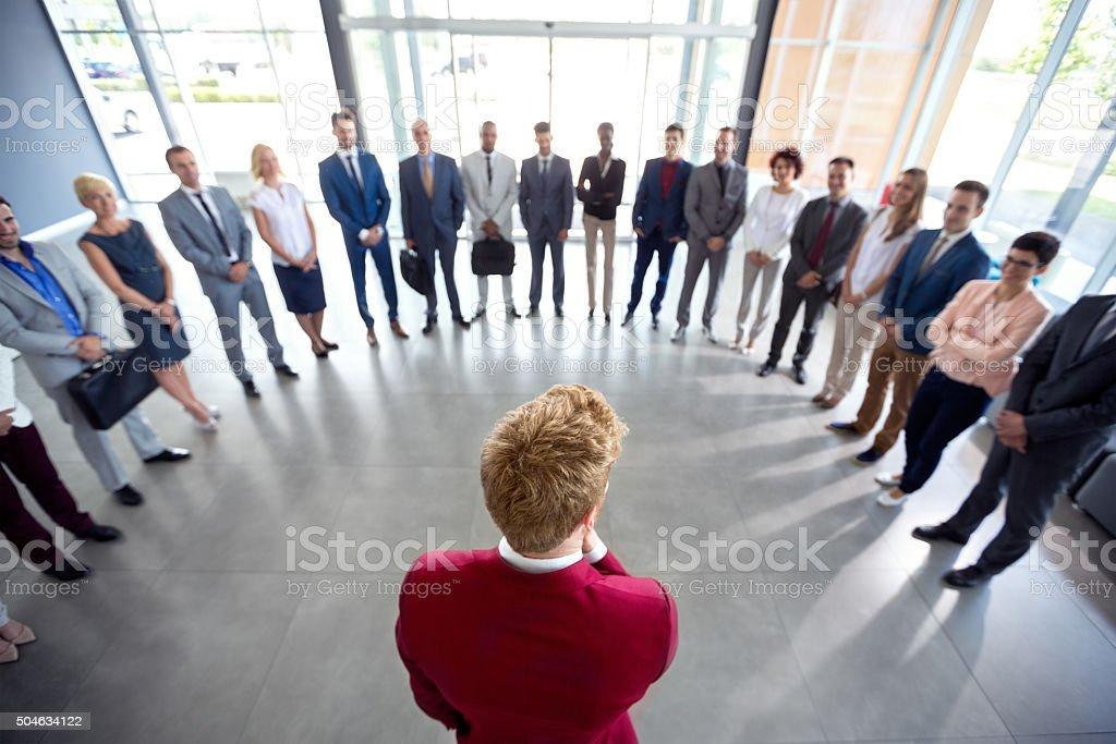 team Leader zu sein – Foto