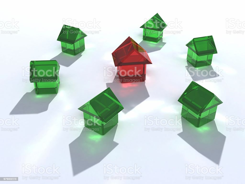 Leader house royalty-free stock photo