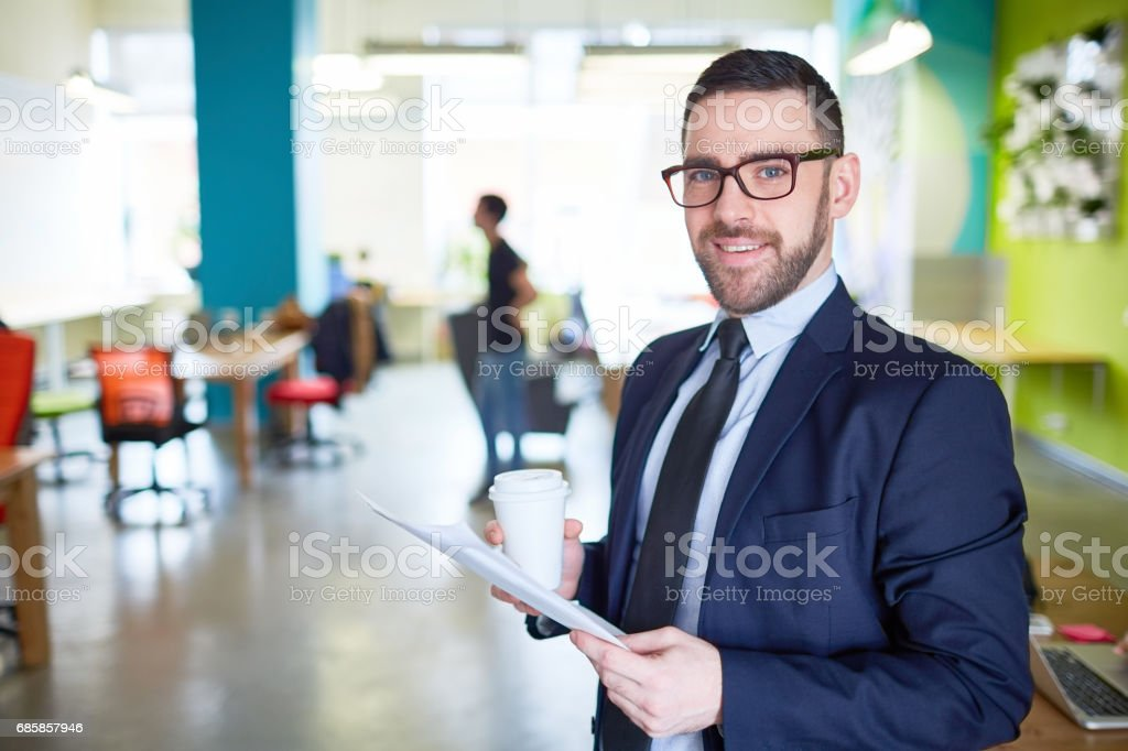 Leader in formalwear stock photo