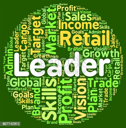 Leader Word Representing Wordcloud Wordclouds And Led