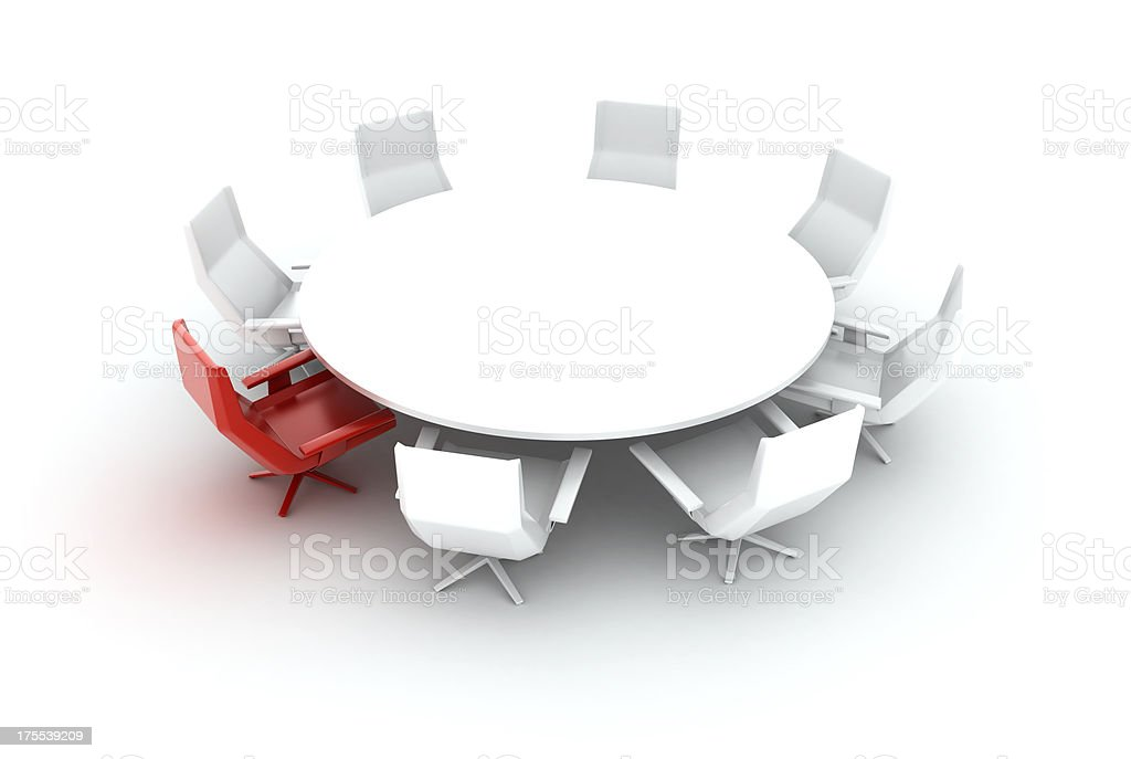 Leader's seat royalty-free stock photo