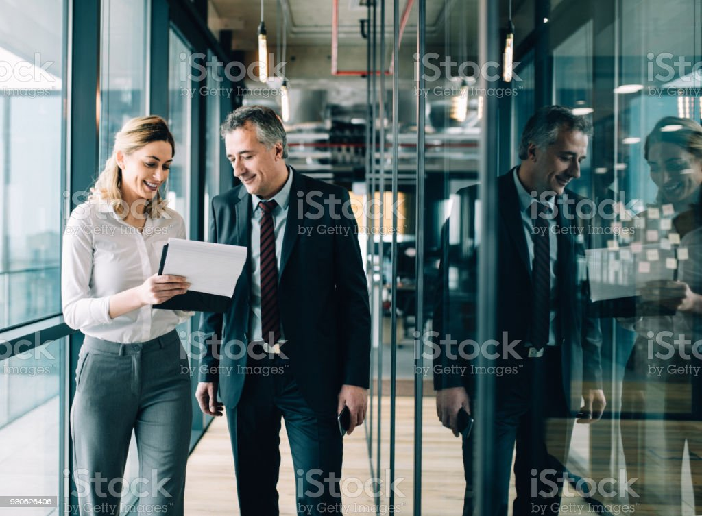 Leadership and cooperation stock photo