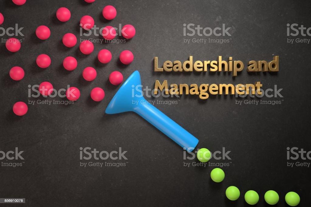 Führung und Management-Handbuch – Foto